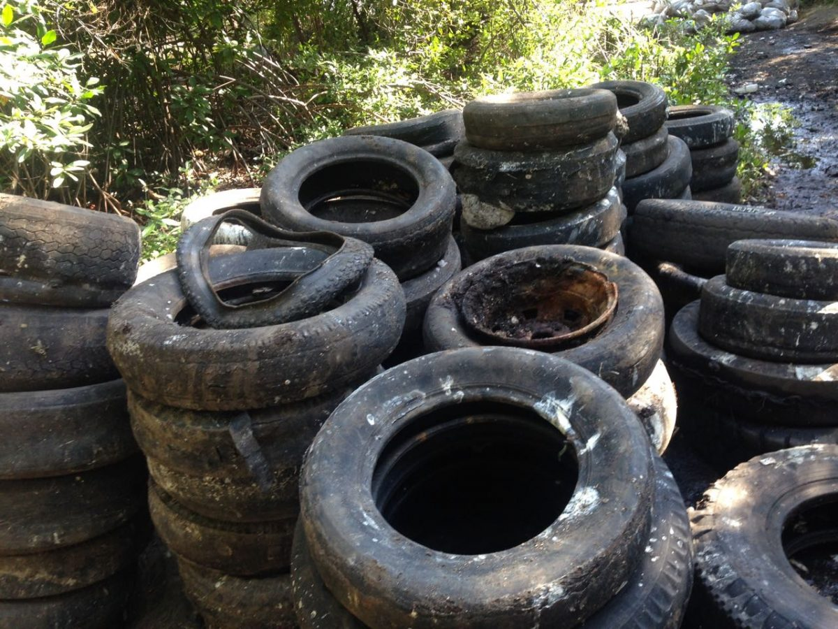 Refuge Cay tyres 2